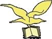Parte del logo del Sistema bibliotecario del Sud Pontino