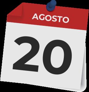 20 agosto 2020
